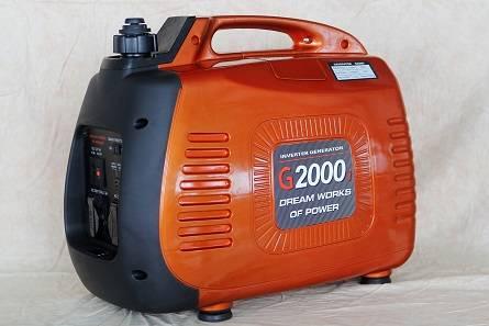 2KW Portable Gasoline Inverter Generator