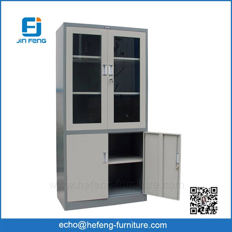 Steel Cabinet with Glass Door
