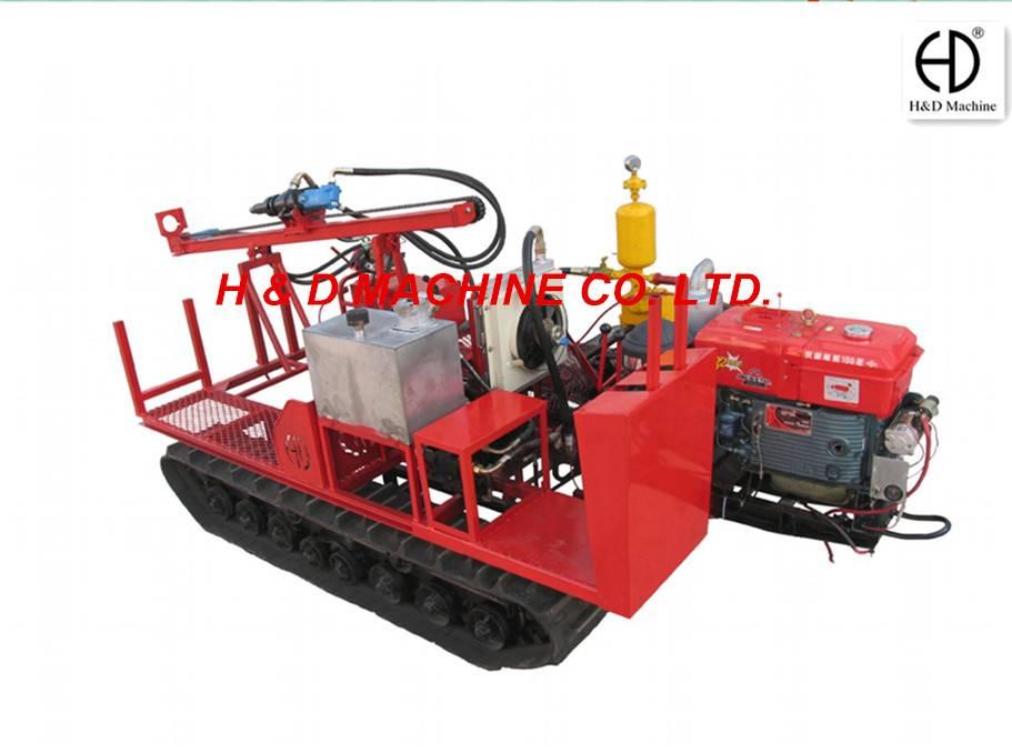 HD-C40 Mechanical Drive Crawler Drilling Rig