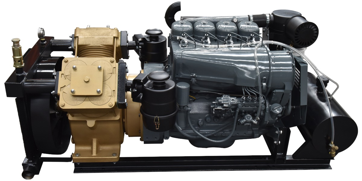 G220-2 Air Compressor with Renovated Diesel Engine