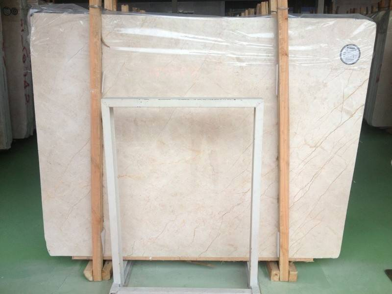 Finis Beige marble natural stone product slab