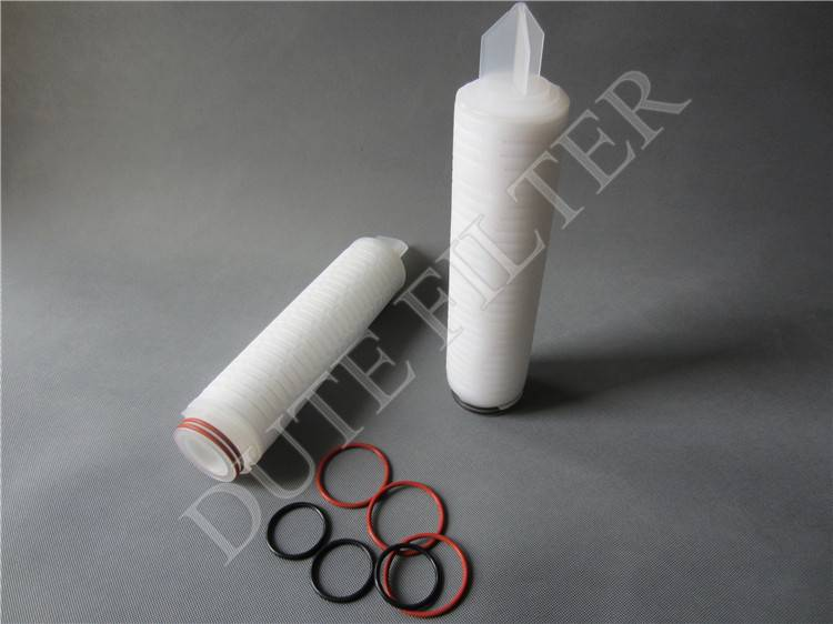 2016 new PTFE Filter Cartridge for high purity chemicals filtering
