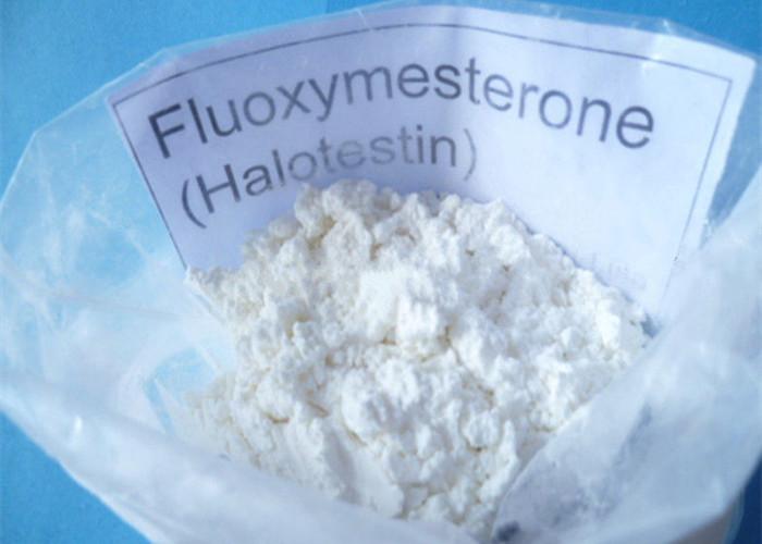 Halotestin Raw Testosterone Steroids Powder Stenox Fluoxymesterone CAS 76-43-7