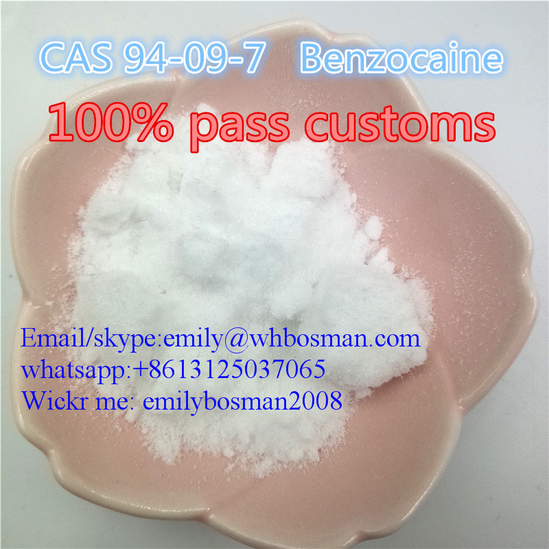 100% Safe Delivery CAS 94-09-7 Benzocain China Manufacturer