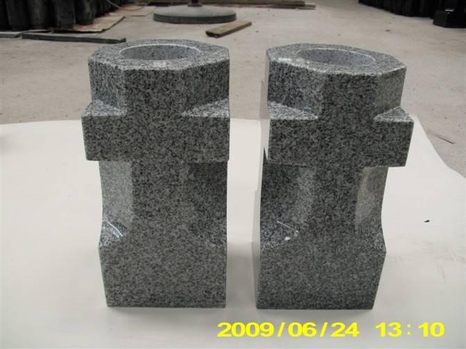 marble vases, stone garden art