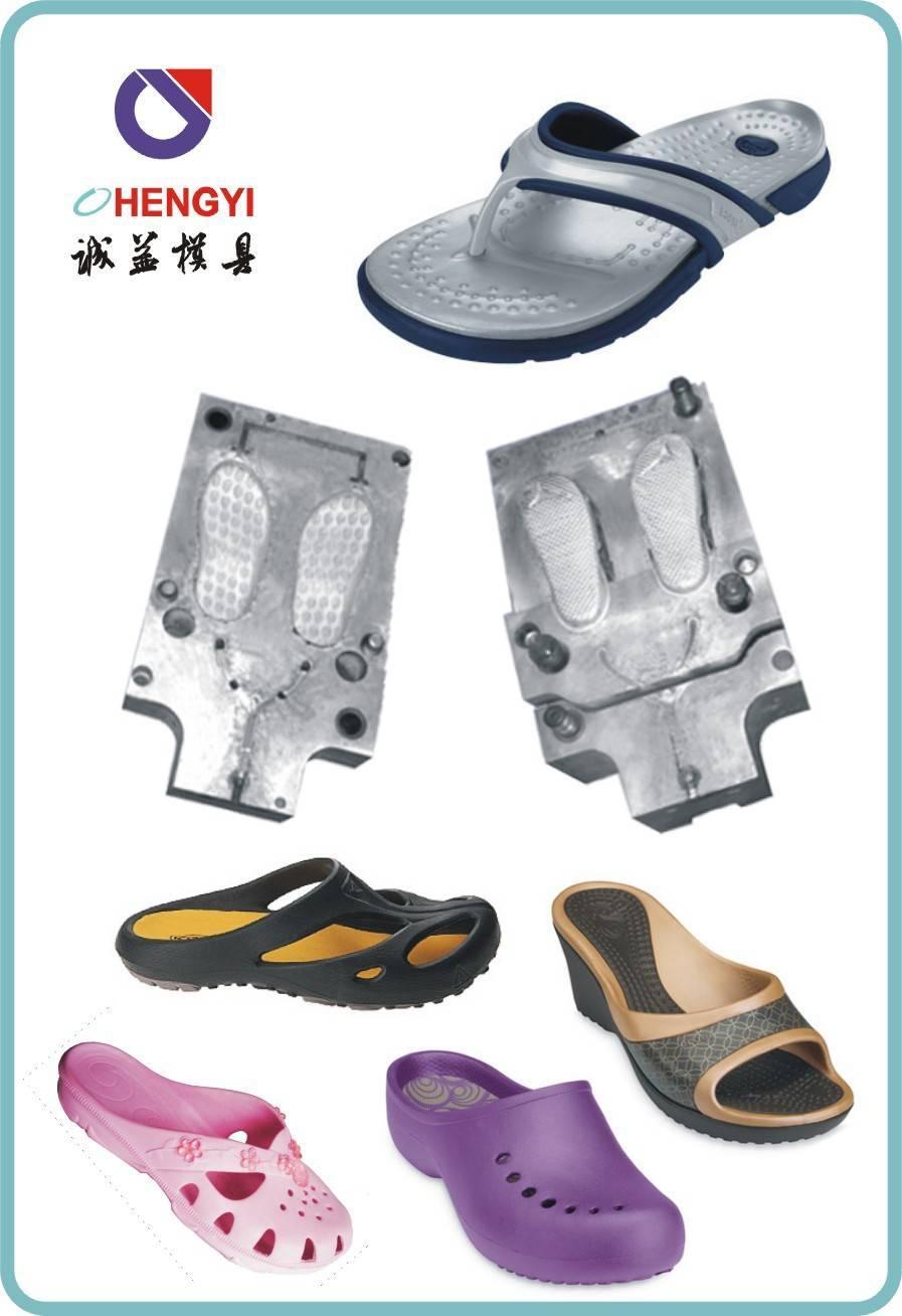eva injection slipper shoes mould