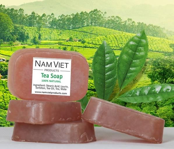 Natural Organic Skin Care Handmade Tea Soap