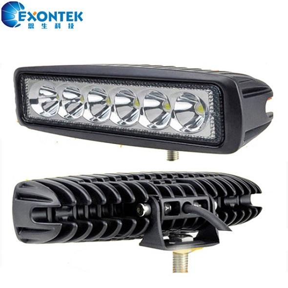 4X4 LED Truck Work Light 18W LED Working head Lamp Headlight DRL for 4WD Jeep SUV UTV Tractor