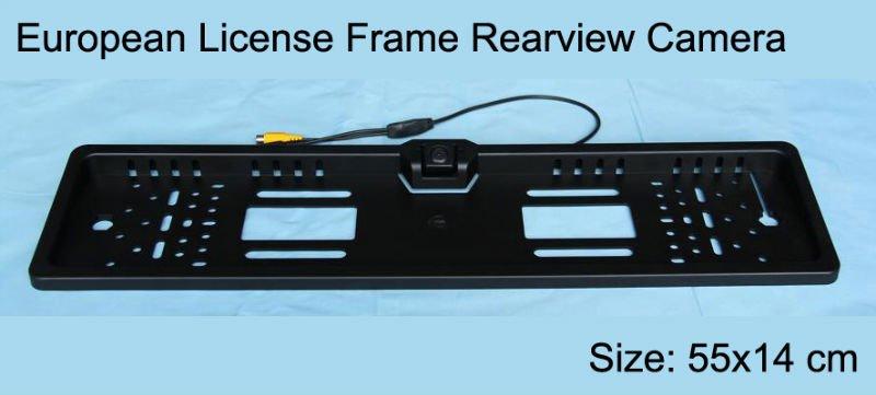 Licence Car Plate Frame Camera for Europe Size/CMOS Camera--Cam-110