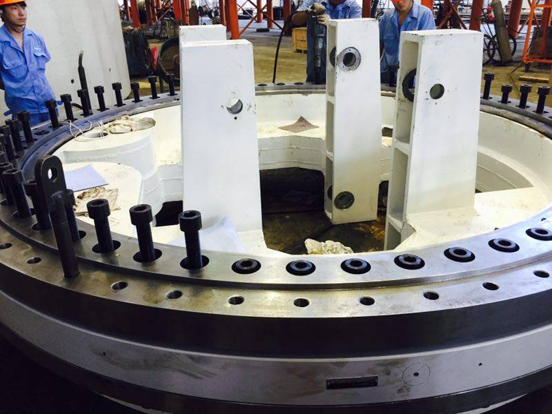SBI Four Point Contact ball slewing bearing