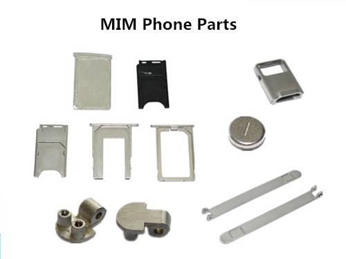 MIM phone parts