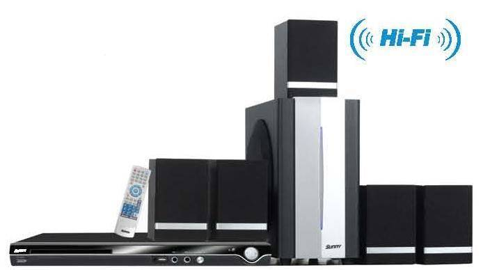 home karaoke/home theater system 5.1ch