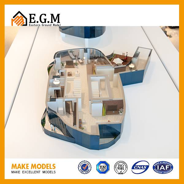 building model /architecture model/unit model