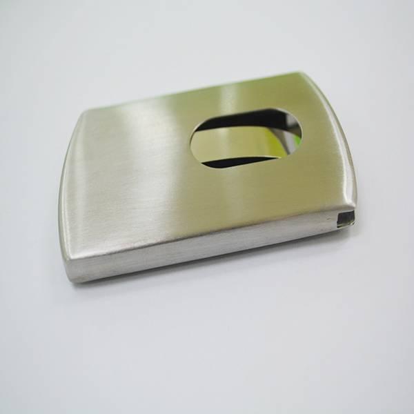 Eco-Friendly logo printing metal credit card holder