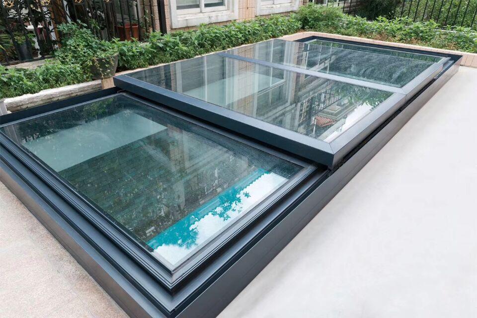 Better Ventilation Lighting Aluminum Alloy Skylight Window For Flat