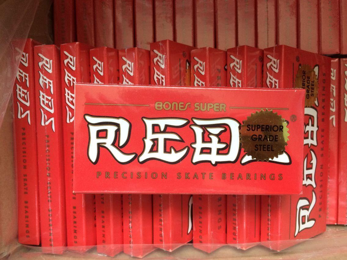 Bones Bearings Super Reds Bearings/ skate bearings/ skateboard bearings