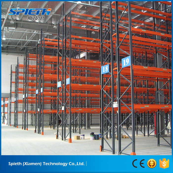 Heavy Duty Selective Steel Warehouse Pallet Racking