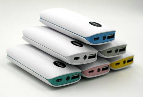 SJ-Y522L 4400mAh latest high quality portable power bank with LED