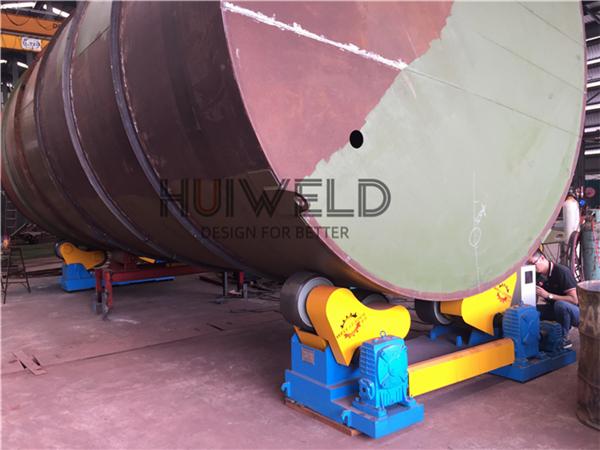 Pressure Vessel Boiler Heavy Duty Pipe Welding Rotator