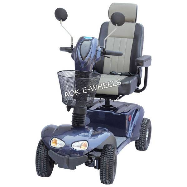 2016 Selling Well 4 Wheels Electric Moped for Old People (MS-005)