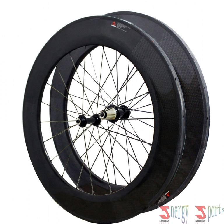 full carbon wheel tubular 88mm 700c