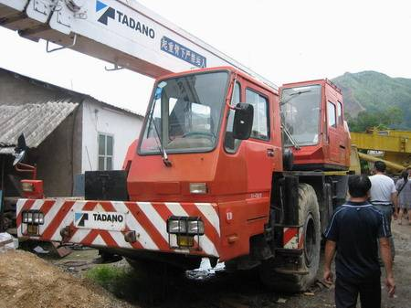 TADANO TR-300 30T used truck mounted crane for sale