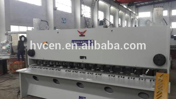 qc11y-16*2500 plate sheet shear cutter /hydraulic metal plate shearing machine