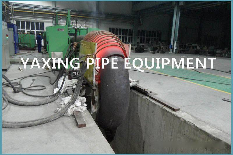 hot forming elbow machine for steel pipes