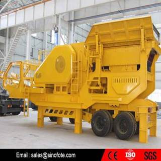 Hot sale mining stone mobile crusher