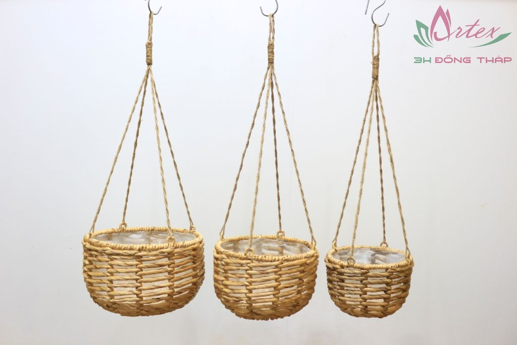 Water hyacinth hanging planter-SD1695A-3NA