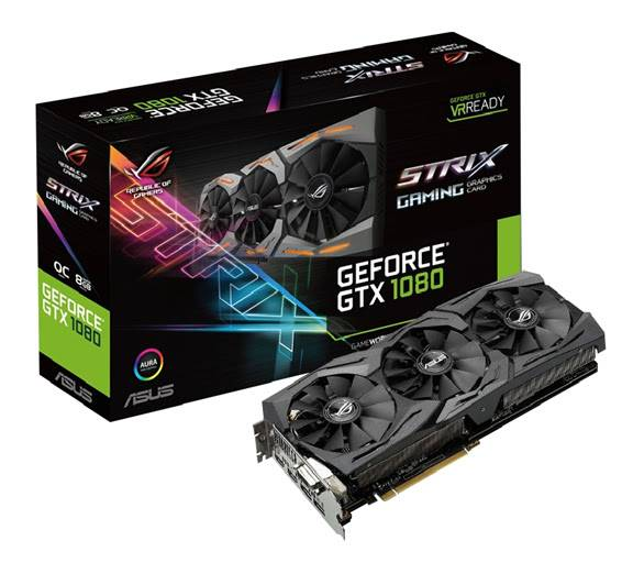 BUY GEFORCE GTX 1080 ASUS ROG STRIX GEFORCE GTX 1080 OC EDITION WITH WARRANTY