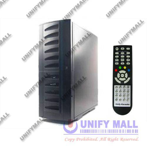 UNIFY PCKM1000T 1000-9000GB HDD PC Karaoke Machine T Series (Tower Case)