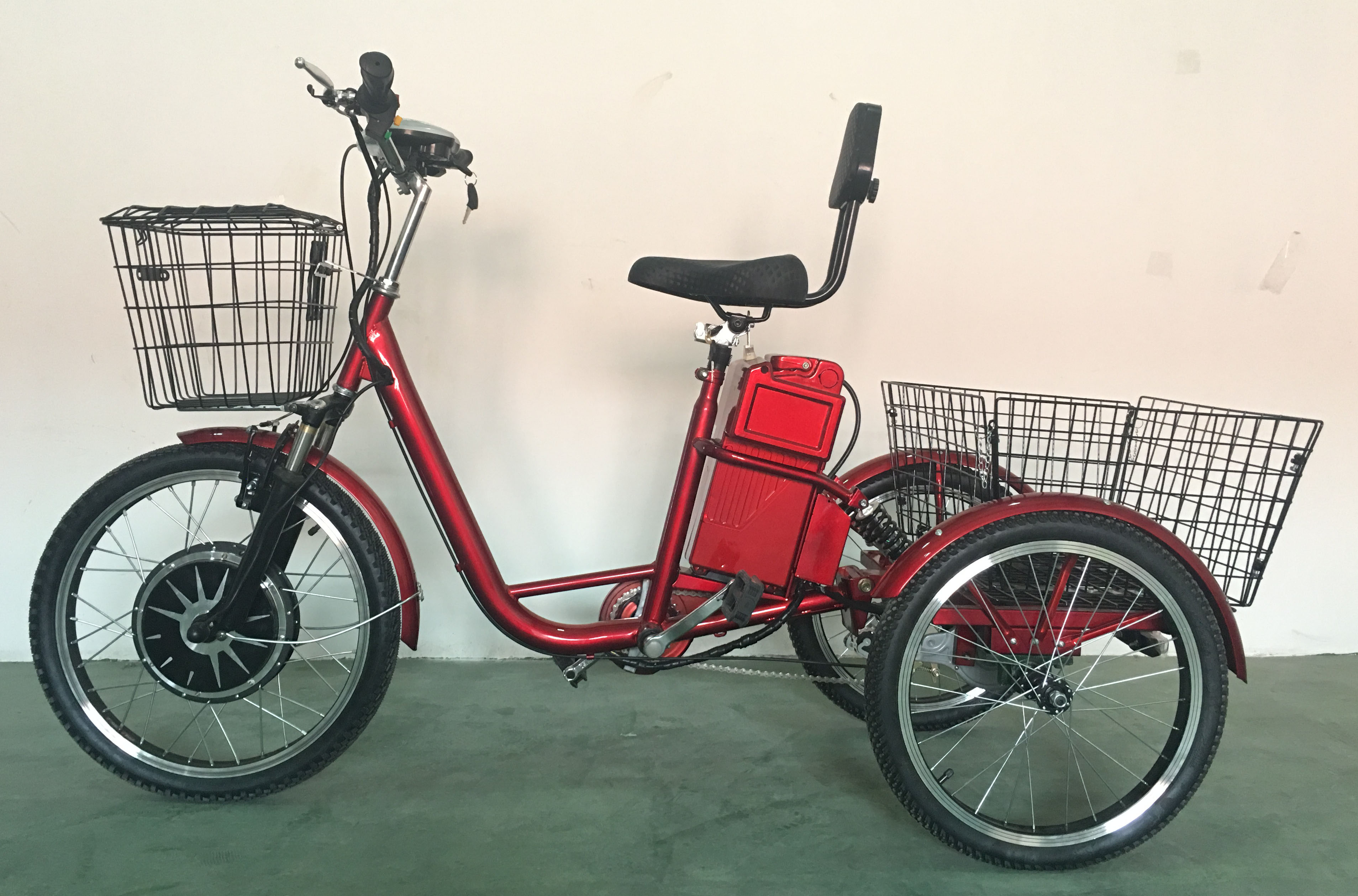 Adult Electric Tricycle with Lead acid Battery,adult cargo trike(TC-017N)