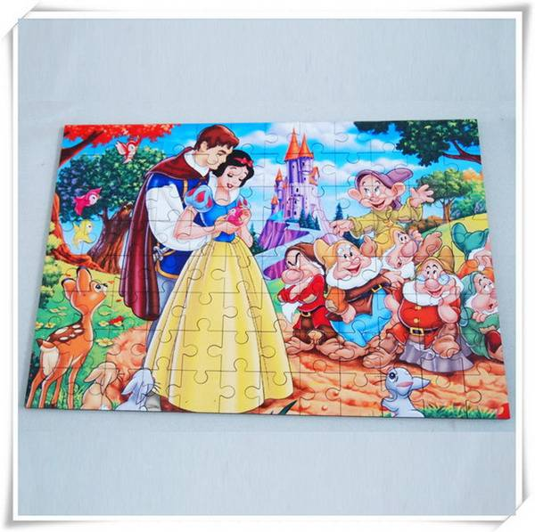 sublimation coating 3mm hardboard jigsaw puzzle