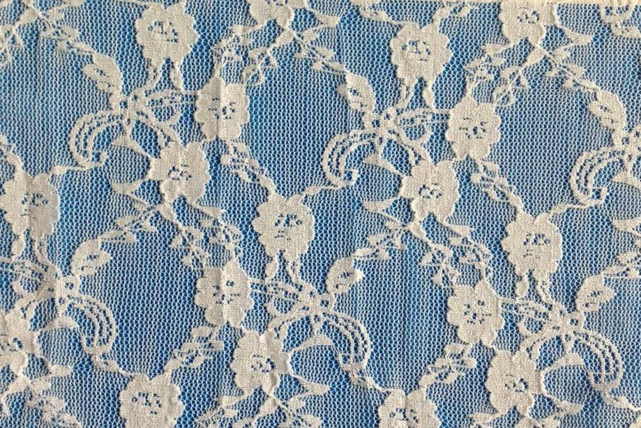 Nylon & spandex lace fabric