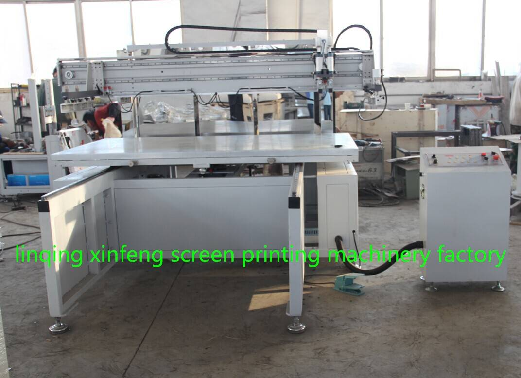 motor driving silk screen printing machine