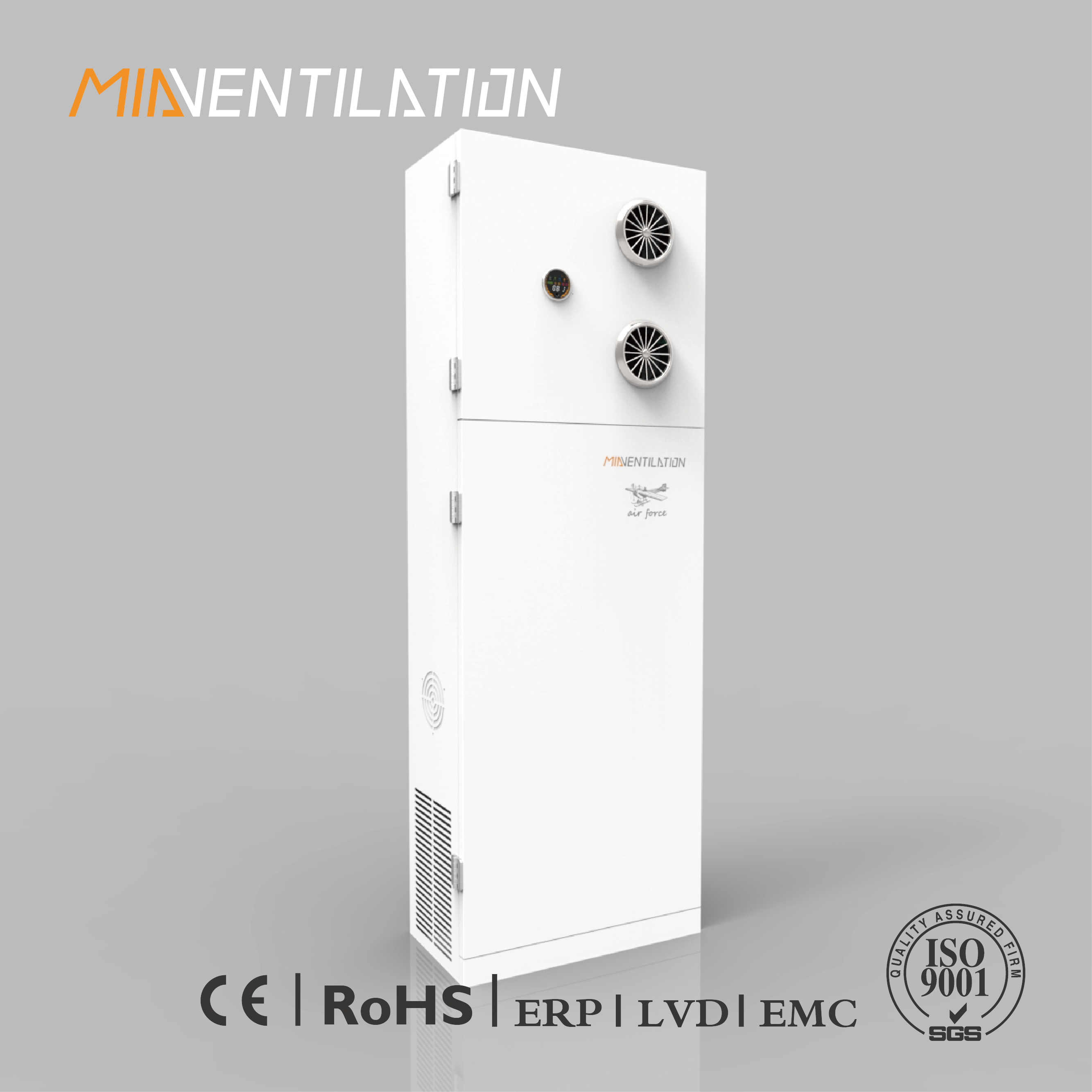 MIA-AHE600L Cabinet Type Multiple Flitered Energy Recovery Ventilator 600m3/h