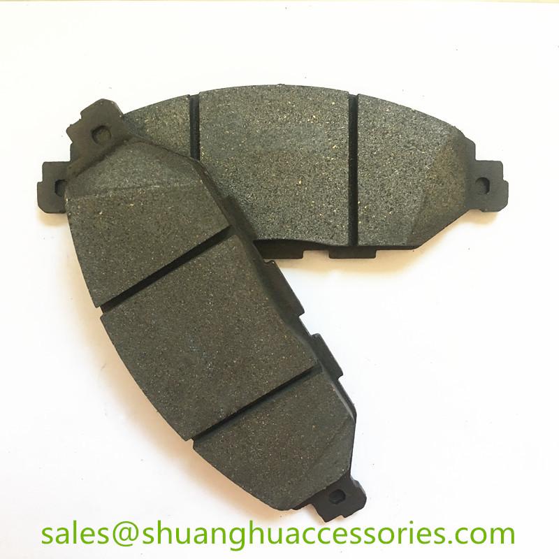 D1649 Brake pads for Infiniti auto car.semi metal,ISO9001:2008