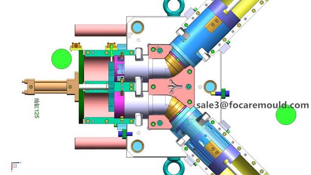 elbow fitting mould, collapsible elbow mould, pipe fitting moulds