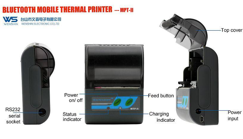 58mm/ 2 inch Bluetooth Thermal Printer