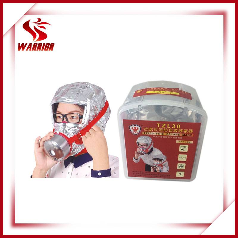 CE approved fire fighting respirator mask smoke hood