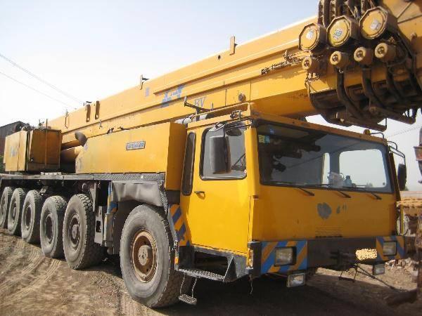 Liebherr ltm 1160-5 used mobile crane,used liebherr truck crane 160t