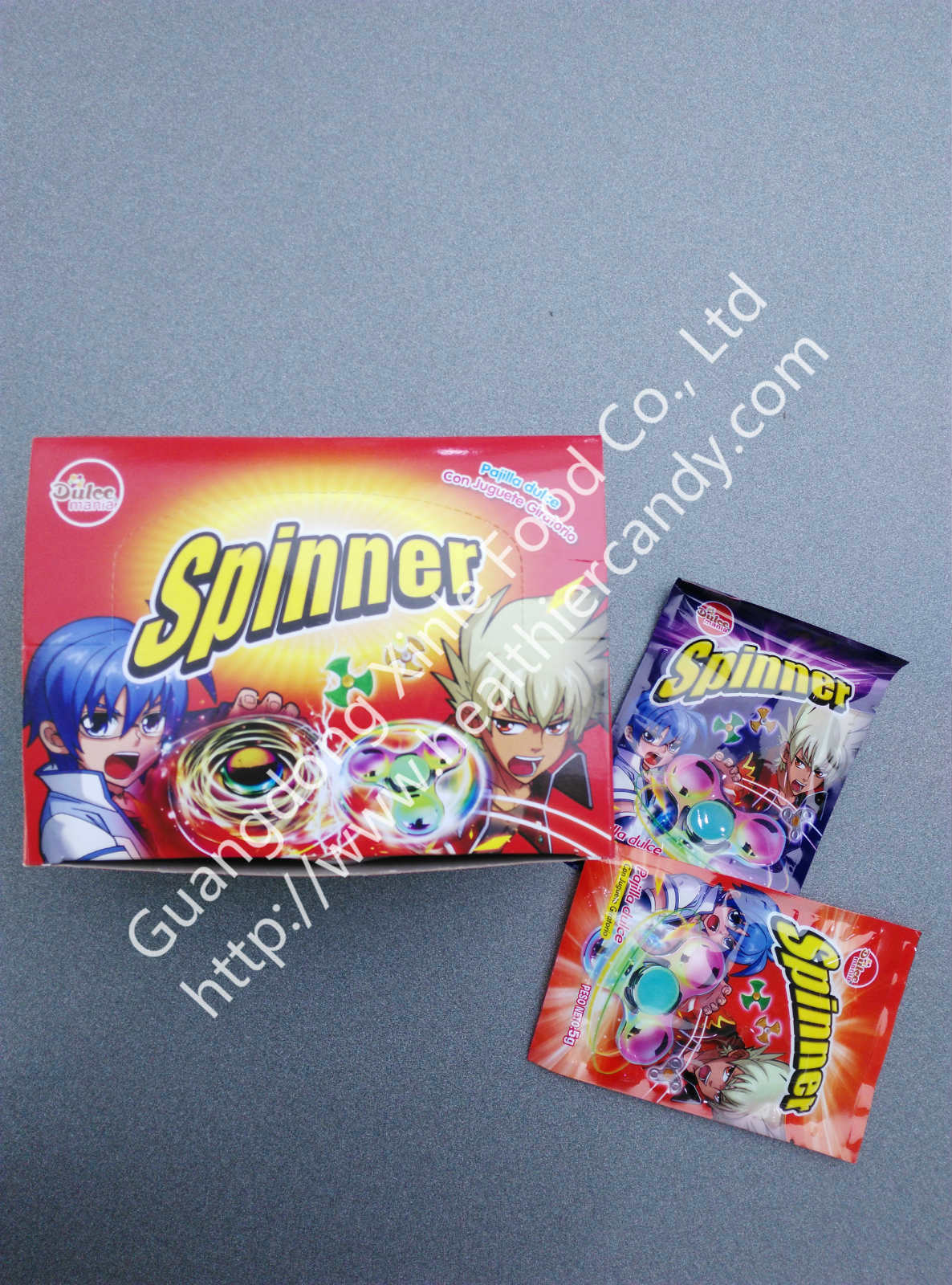 Spinner Candy,Funny and lovely shape,Kids love, Nice Taste