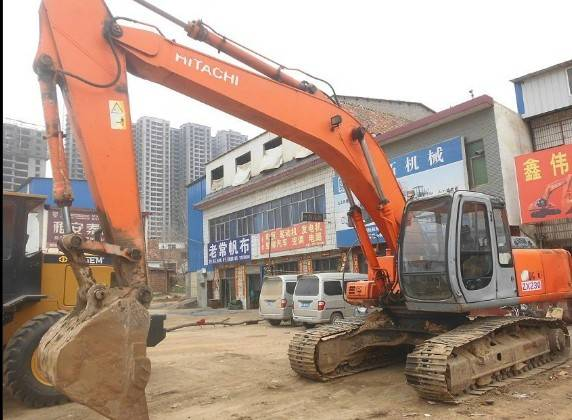 Used Japan Original Hitachin EX220-5 Crawler Excavator