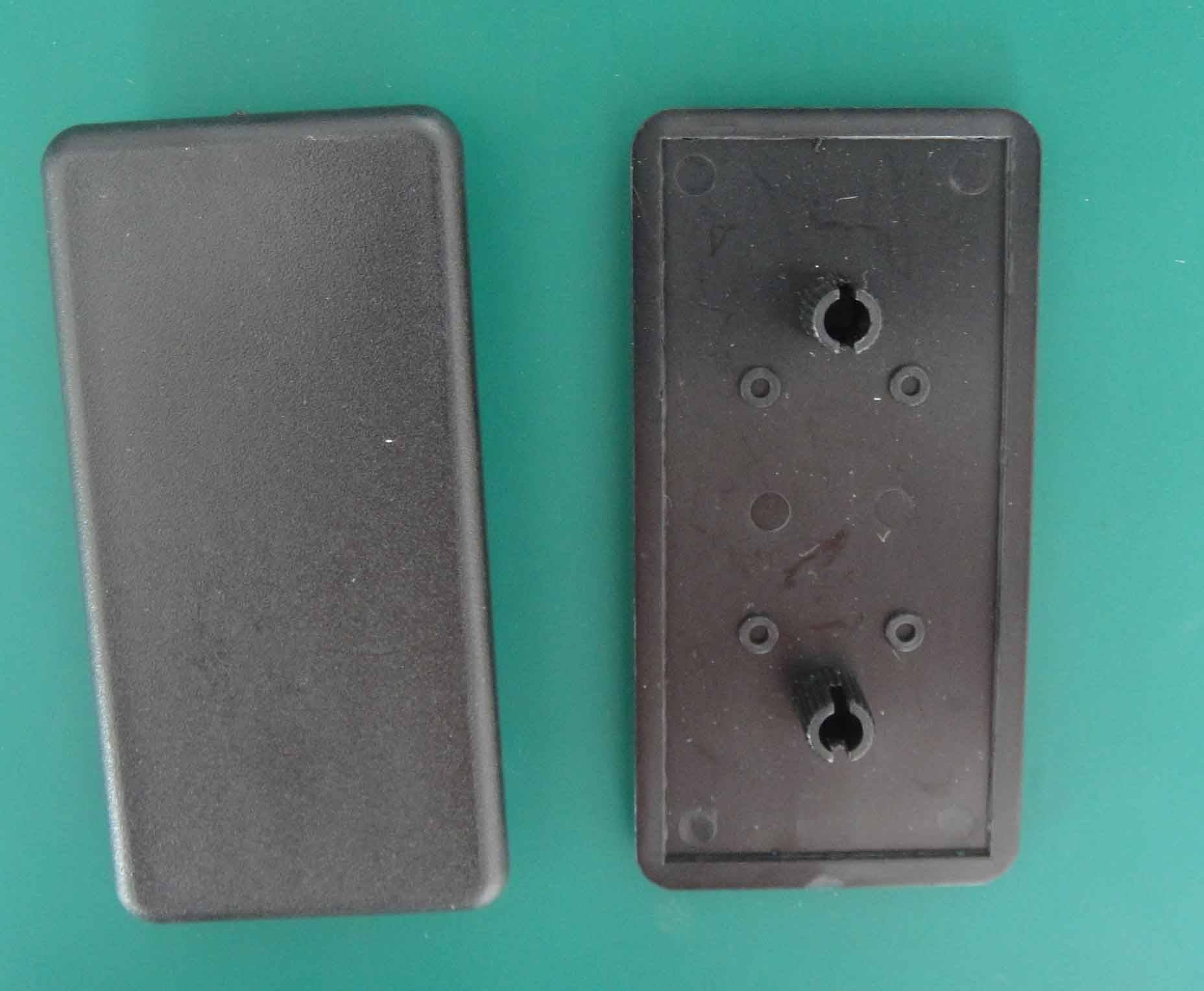 End caps,Aluminium profile components