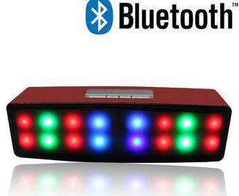 new arrived shinning led wireless portable mini bluetooth active pa speaker