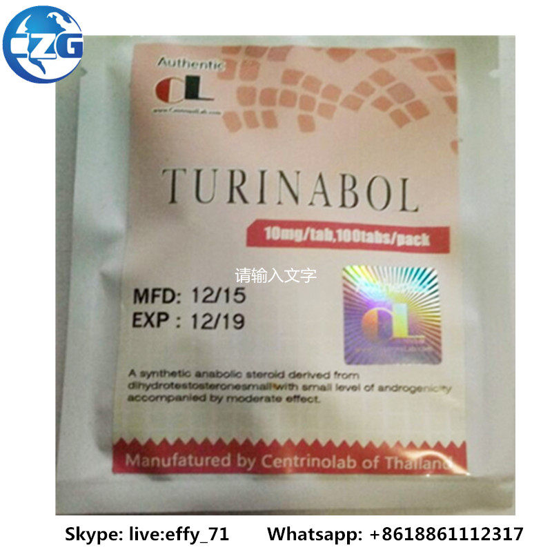 Tbol Turinabol 4-Chlorodehydromethyltestosterone CAS 2446-23-3 Bodybuilding Hormone steroid Finished