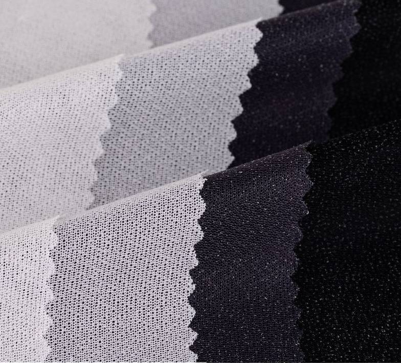 circular knitted woven fusible interlining,4-way spandex woven interlining