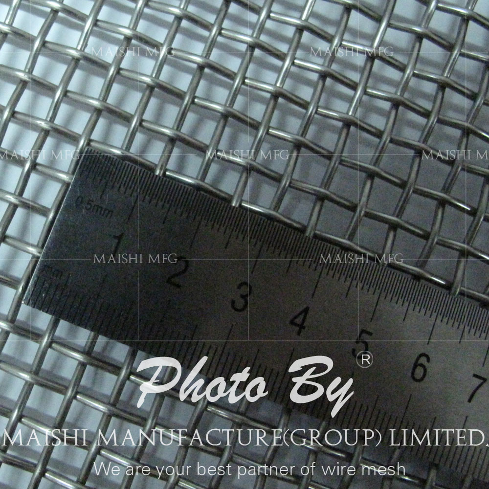 ultra fine 304 plain woven Stainless steel wire mesh
