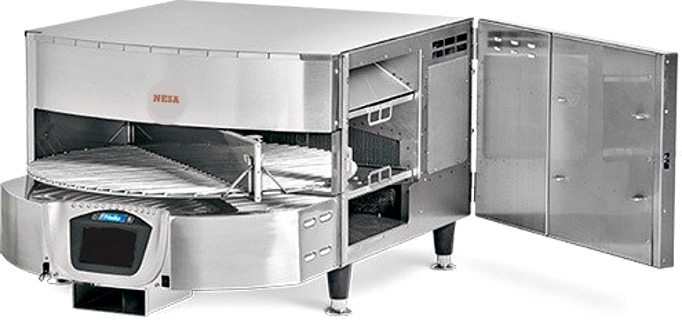 ELECTRIC ROTATING CONVEYOR OVEN